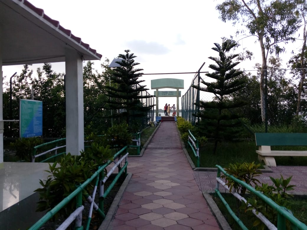 Sajinakhali Tiger Reserve Entrance